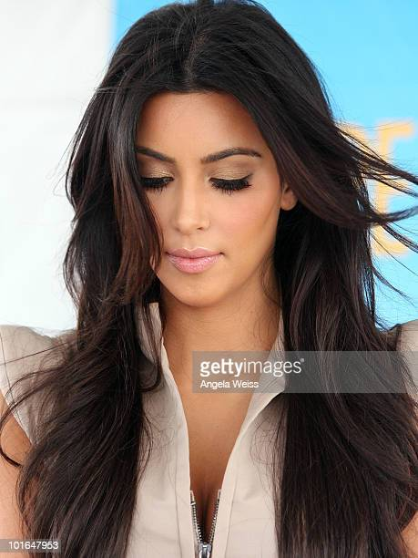 fce90066390f0 Kim Kardashian attends Shape Magazine s 2nd annual  Bikini Body Tour  on  June 5 2010