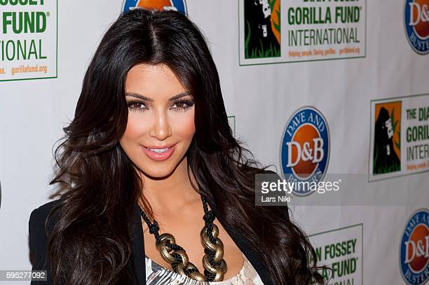 "Kim Kardashian attends the ""2010 Celebrity Skee Ball Tournament"" to benefit the Dian Fossey Gorilla Fund International at Dave and Busters in New..."