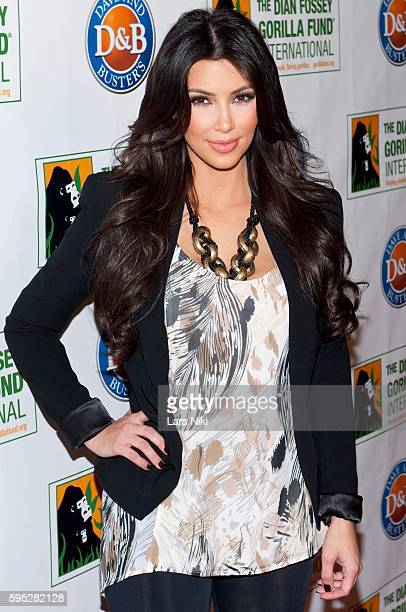 Kim Kardashian attends the '2010 Celebrity Skee Ball Tournament' to benefit the Dian Fossey Gorilla Fund International at Dave and Busters in New...