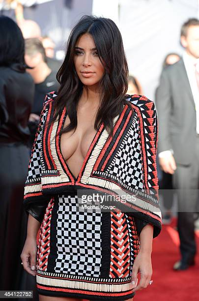Kim Kardashian attends the 2014 MTV Video Music Awards at The Forum on August 24 2014 in Inglewood California