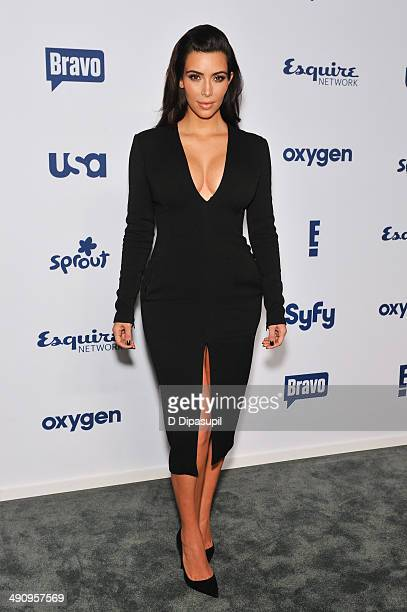 Kim Kardashian attends the 2014 NBCUniversal Cable Entertainment Upfronts at The Jacob K. Javits Convention Center on May 15, 2014 in New York City.