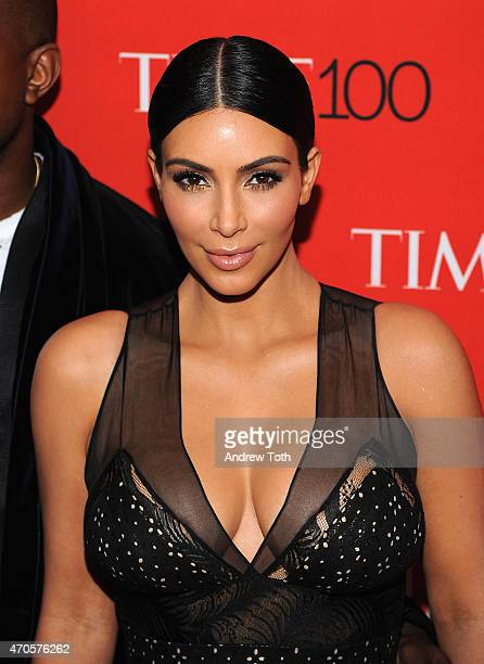 Kim Kardashian attends the 2015 Time 100 Gala at Frederick P. Rose Hall, Jazz at Lincoln Center on April 21, 2015 in New York City.