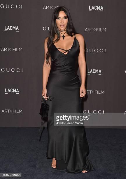 Kim Kardashian attends the 2018 LACMA Art Film Gala at LACMA on November 03 2018 in Los Angeles California