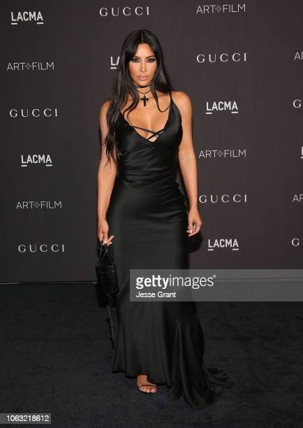 Kim Kardashian attends the 2018 LACMA Art Film Gala at LACMA on November 03 2018 in Los Angeles California