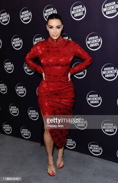 Kim Kardashian attends the 2nd Annual American Influencer Awards at Dolby Theatre on November 18, 2019 in Hollywood, California.