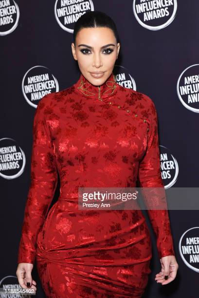 Kim Kardashian attends the 2nd Annual American Influencer Awards at Dolby Theatre on November 18 2019 in Hollywood California