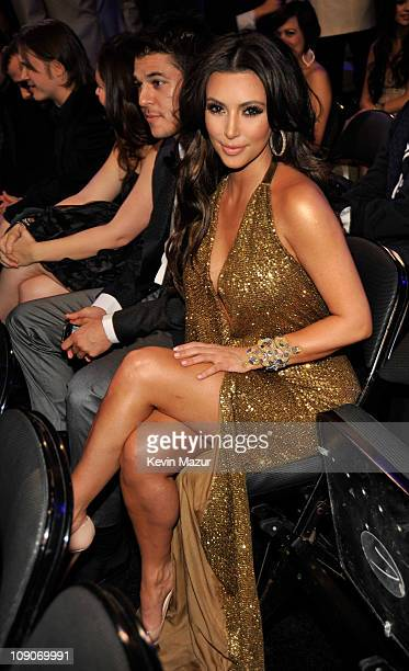 Kim Kardashian attends The 53rd Annual GRAMMY Awards held at Staples Center on February 13 2011 in Los Angeles California