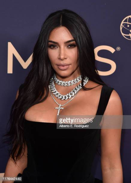 Kim Kardashian attends the 71st Emmy Awards at Microsoft Theater on September 22 2019 in Los Angeles California