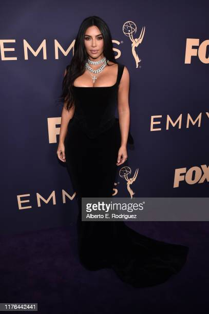 Kim Kardashian attends the 71st Emmy Awards at Microsoft Theater on September 22, 2019 in Los Angeles, California.
