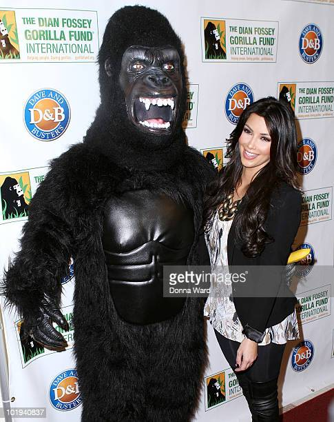 Kim Kardashian attends the Celebrity Skee Ball Tournament benefiting the Dian Fossey Gorilla Fund International at Dave & Buster's Time Square on...