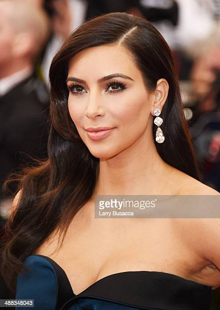 Kim Kardashian attends the Charles James Beyond Fashion Costume Institute Gala at the Metropolitan Museum of Art on May 5 2014 in New York City