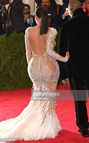 Kim Kardashian attends the 'China Through The Looking Glass' Costume Institute Benefit Gala at Metropolitan Museum of Art on May 4 2015 in New York...