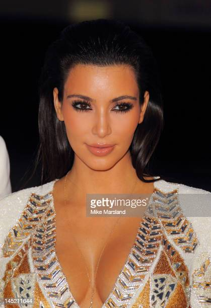 Kim Kardashian attends the 'Cruel Summer' presentation during the 65th Annual Cannes Film Festival on May 23 2012 in Cannes France