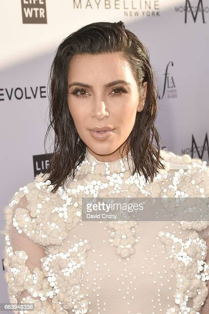 Kim Kardashian attends the Daily Front Row's 3rd Annual Fashion Los Angeles Awards Arrivals at Sunset Tower Hotel on April 2 2017 in West Hollywood...