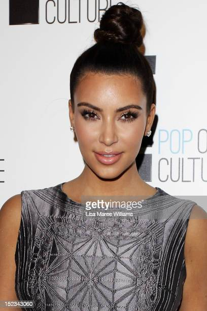 Kim Kardashian attends the EChannel Brand Evolution event in Paddington on September 19 2012 in Sydney Australia