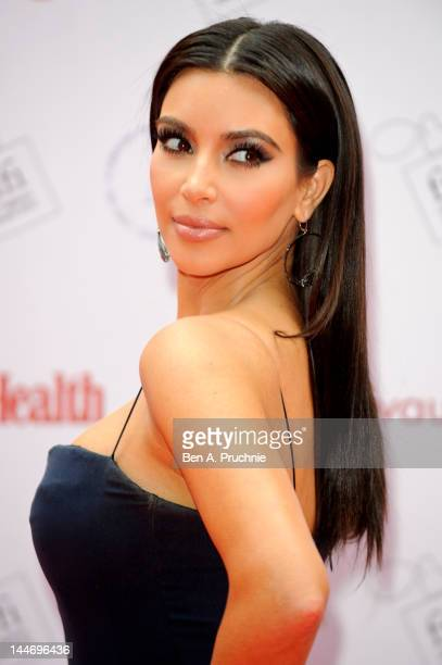 Kim Kardashian attends The FiFi UK Fragrance Awards 2012d at The Brewery on May 17 2012 in London England