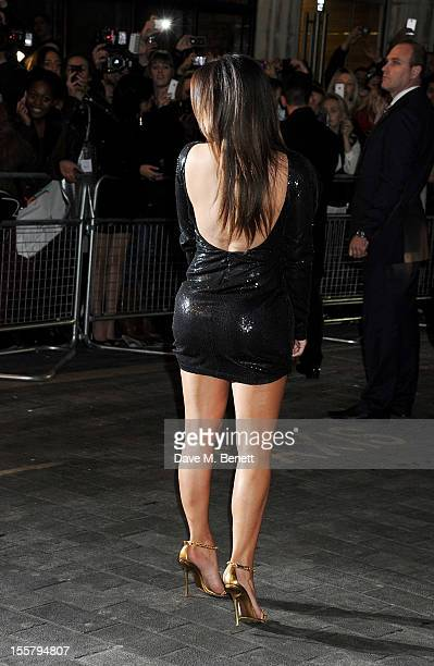 Kim Kardashian attends the Kardashian Kollection launch for Dorothy Perkins at Aqua on November 8 2012 in London England