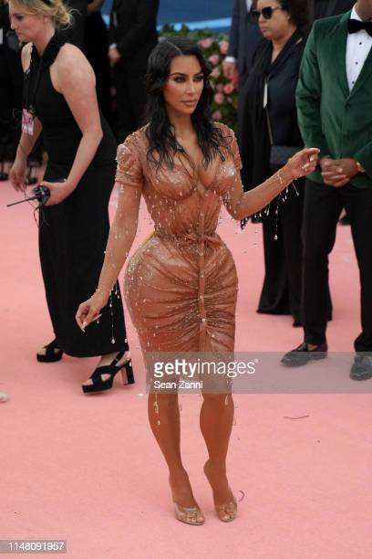 Kim Kardashian attends The Metropolitan Museum Of Art's 2019 Costume Institute Benefit Camp Notes On Fashion at Metropolitan Museum of Art on May 6...