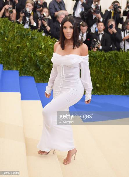 """Kim Kardashian attends the """"Rei Kawakubo/Comme des Garcons: Art Of The In-Between"""" Costume Institute Gala at Metropolitan Museum of Art on May 1,..."""