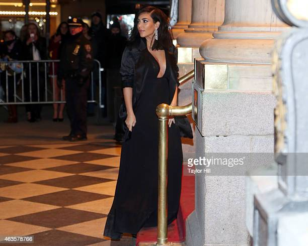 Kim Kardashian attends the Saturday Night Live 40th Anniversary Celebration After Party at The Plaza Hotel on February 15 2015 in New York City