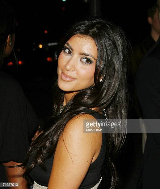 Kim Kardashian attends the Teen Vogue Young Hollywood party held on September 20 2006 in West Hollywood California