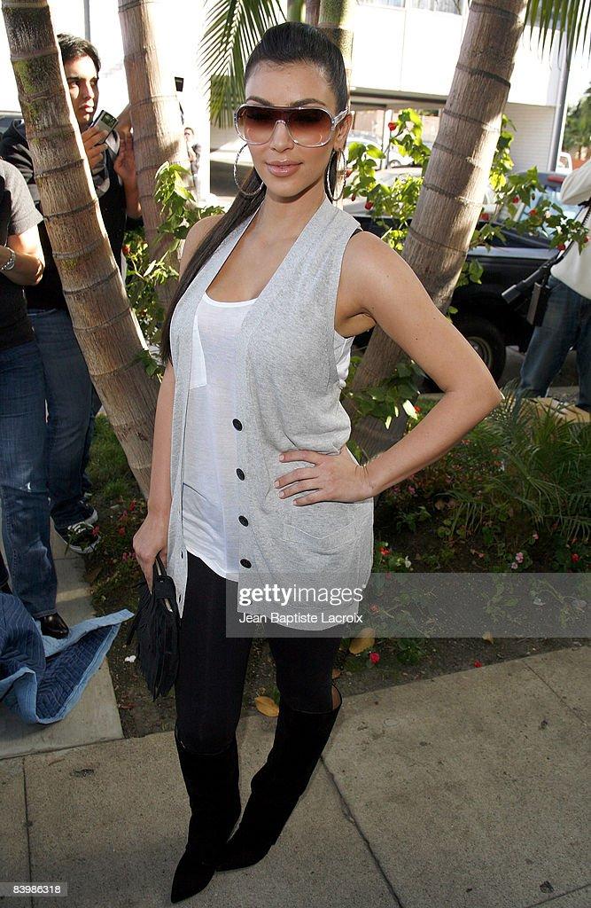 "Khloe Kardashian's PETA ""Fur? I'd Rather Go Naked"" Billboard Unveiling : News Photo"