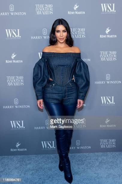 Kim Kardashian attends the WSJ Mag 2019 Innovator Awards at The Museum of Modern Art on November 06, 2019 in New York City.