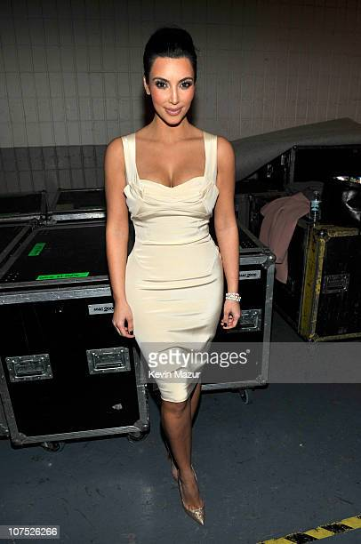 Kim Kardashian attends Z100's Jingle Ball 2010 presented by HM at Madison Square Garden on December 10 2010 in New York City