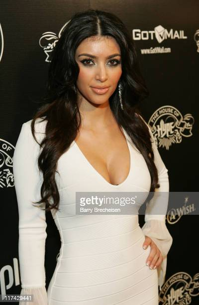 Kim Kardashian during House of Hype Night 1 at Roosevelt Hotel in Hollywood CA United States