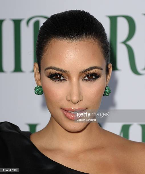 Kim Kardashian hosts the launch of Midori Melon Liqueur trunk shows at Trousdale on May 10 2011 in West Hollywood California