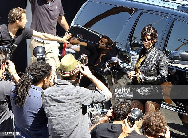 Kim Kardashian is seen during a photo shoot on May 13 2012 in Los Angeles California