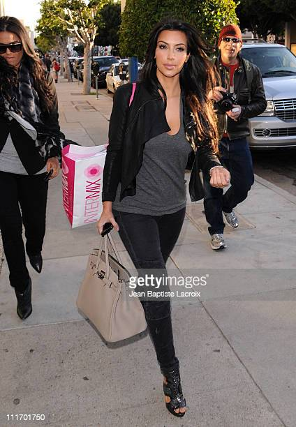 Kim Kardashian is seen in West Hollywood at on March 9 2010 in Los Angeles California