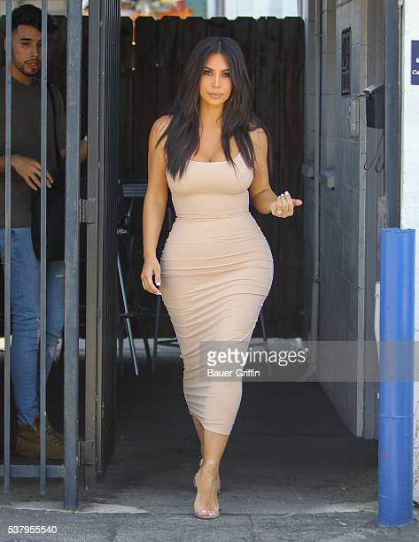 Kim Kardashian is seen on June 03 2016 in Los Angeles California