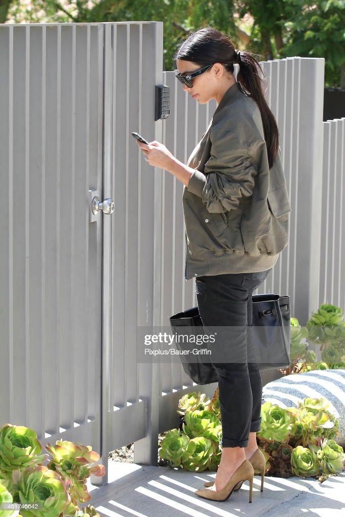 Kim Kardashian is seen on June 19, 2014 in Los Angeles, California.