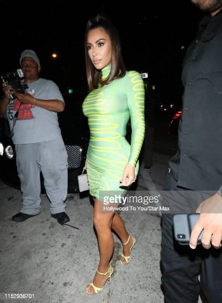 Kim Kardashian is seen on June 29 2019 in Los Angeles