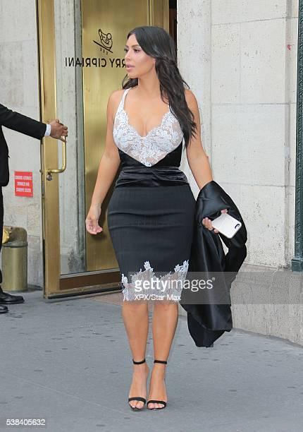 Kim Kardashian is seen on June 5, 2016 in New York City.