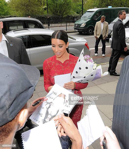 Kim Kardashian is seen on May 18 2012 in London United Kingdom