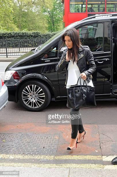 Kim Kardashian is seen on May 21, 2012 in London, United Kingdom.