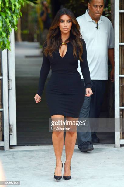 Kim Kardashian is sighted on October 10 2012 in Miami Florida