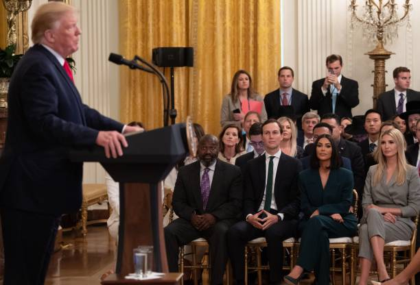 DC: President Donald Trump Delivers Remarks On Second Chance Hiring Initiative