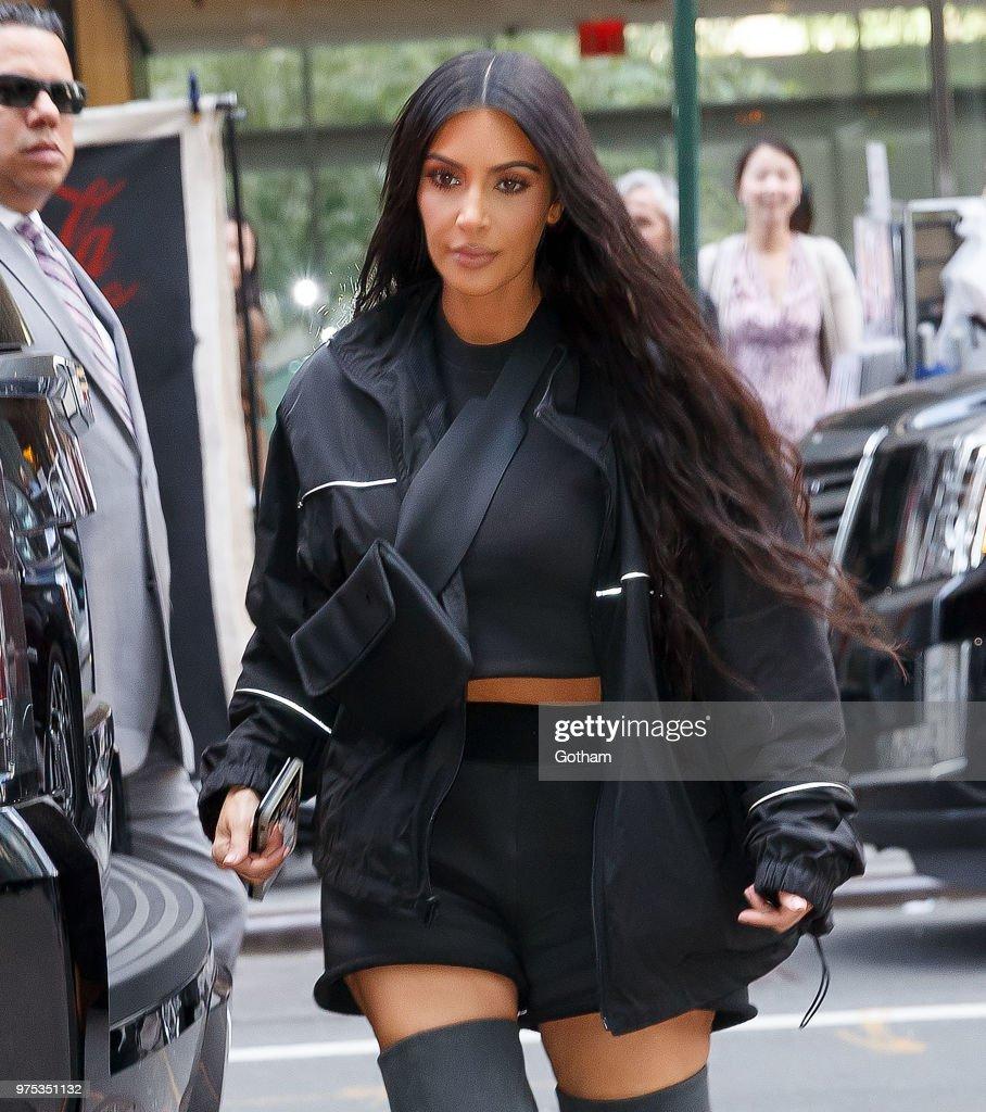 Celebrity Sightings in New York City - June 14, 2018 : News Photo