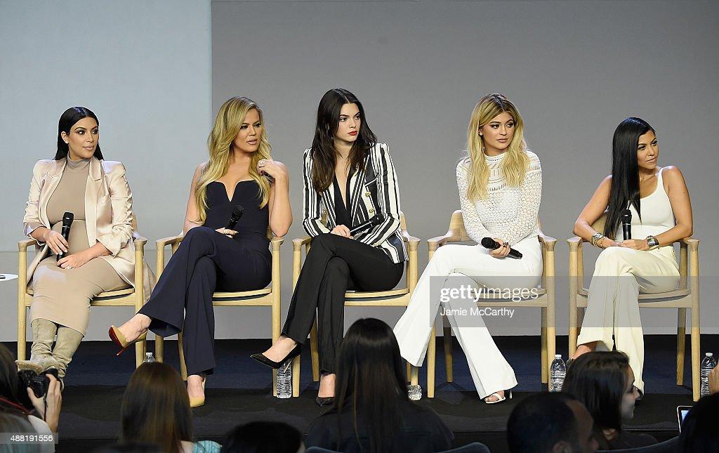 Apple store soho presents meet the developers kim kardashian kim kardashian khlo kardashian kendall jenner kylie jenner and kourtney kardashian attend apple m4hsunfo