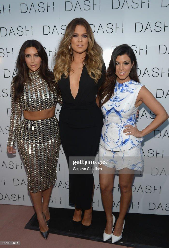 The Kardashian Family Celebrates the Grand Opening of DASH Miami Beach : News Photo