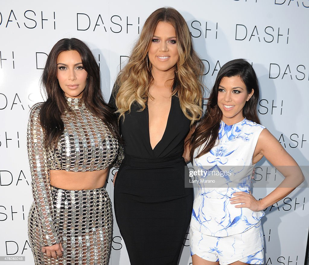 The Kardashian Family Celebrates the Grand Opening of DASH Miami Beach : News Photo