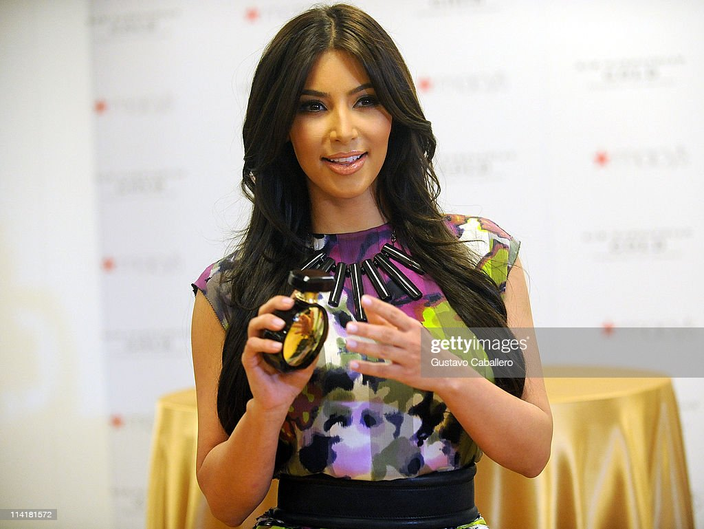Kim Kardashian Perfurme Launch Photos And Images Getty Images