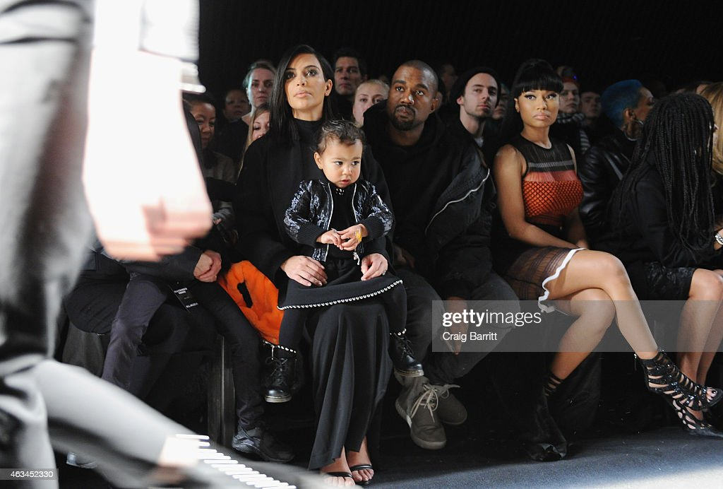 Alexander Wang - Front Row - Mercedes-Benz Fashion Week Fall 2015 : News Photo