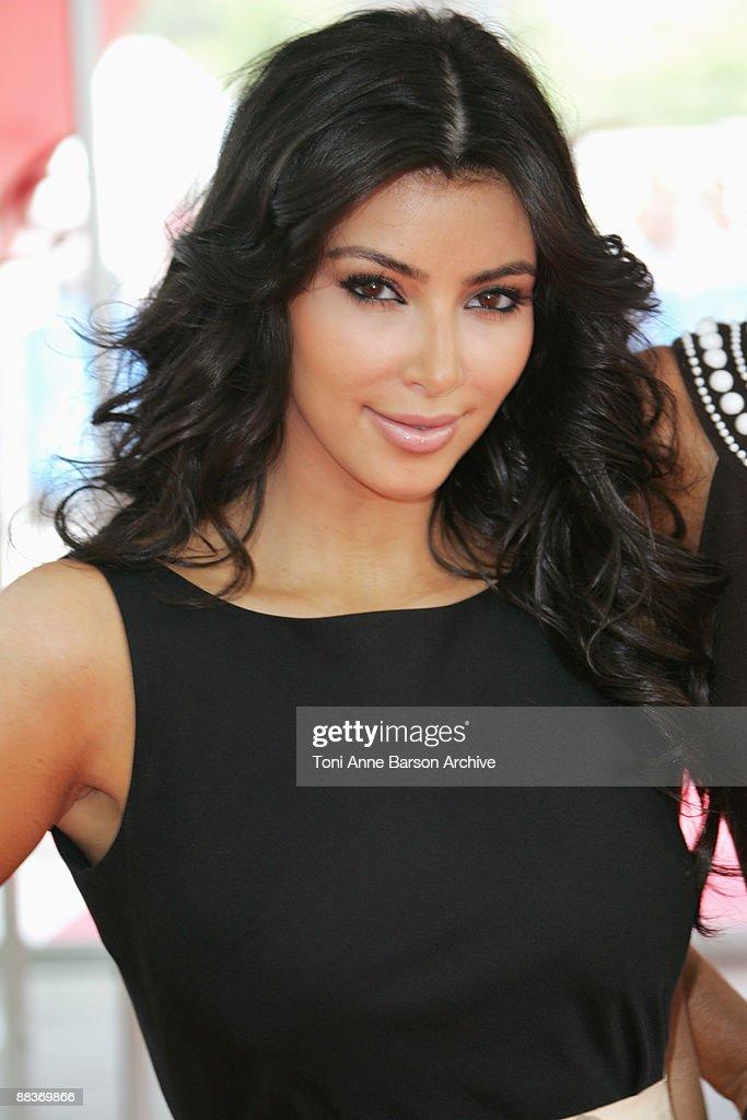 Kim Kardashian poses during the 49th Monte Carlo Television Festival at the Grimaldi Forum on June 9, 2009 in Monte-Carlo, Monaco.