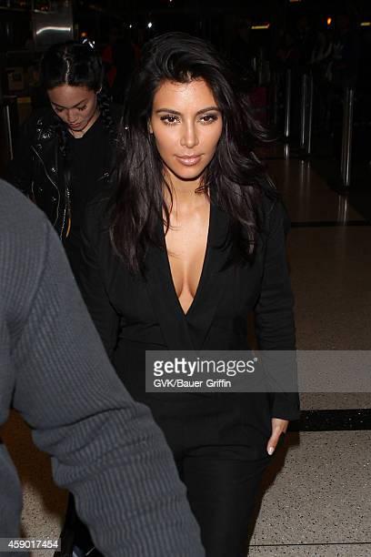 Kim Kardashian seen at LAX on November 14 2014 in Los Angeles California