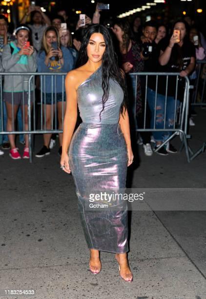 Kim Kardashian seen on October 24, 2019 in New York City.