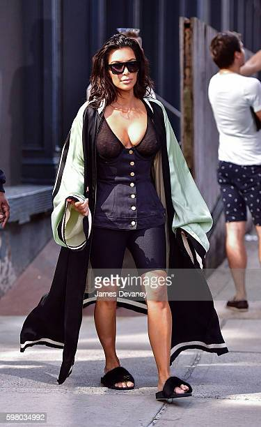 Kim Kardashian seen on the streets of Manahttan on August 30 2016 in New York City